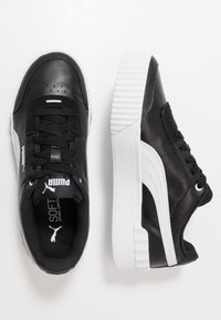 Puma - CARINA LIFT - Trainers - black/white - 3