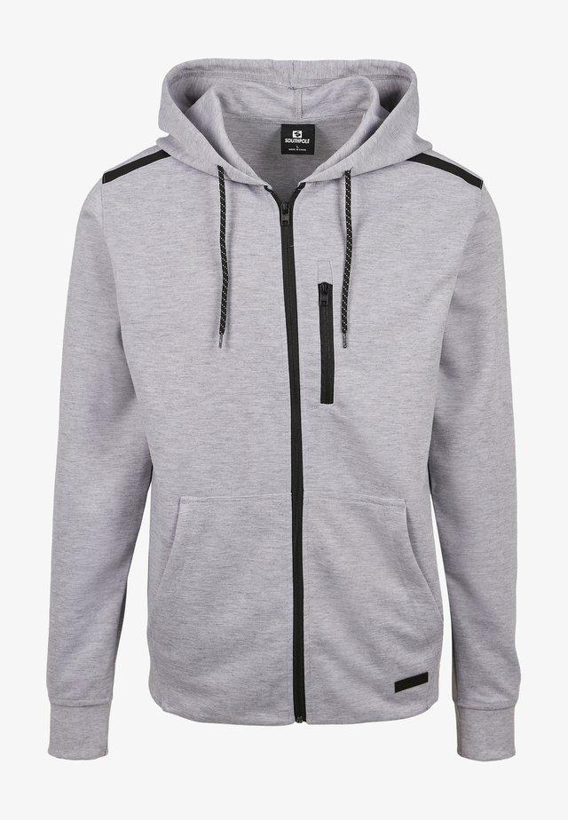 Mikina na zip - heather grey