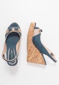 Laura Biagiotti - High heeled sandals - blue - 3