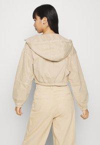 BDG Urban Outfitters - JARED UTILITY JACKET - Denim jacket - beige - 2