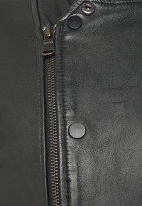 Serge Pariente - FRESH - Leather jacket - black - 2