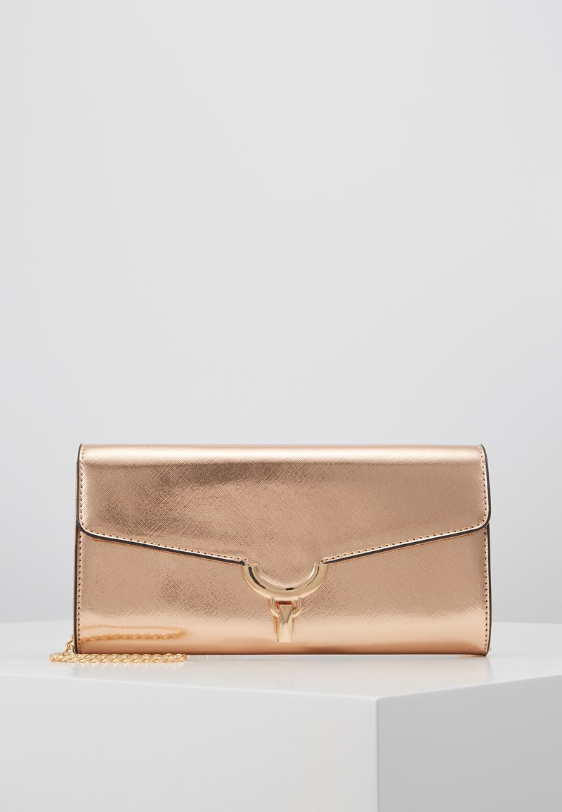 Dorothy Perkins - CURVE LOCK  - Pochette - rose gold-coloured