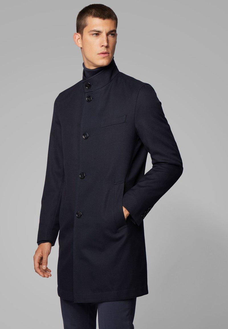 BOSS - SHANTY - Halflange jas - dark blue