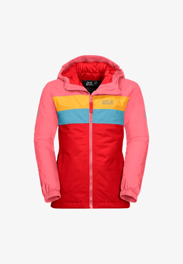FOUR LAKES - Winter jacket - fiery red