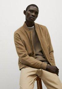 Mango - Light jacket - beige - 4