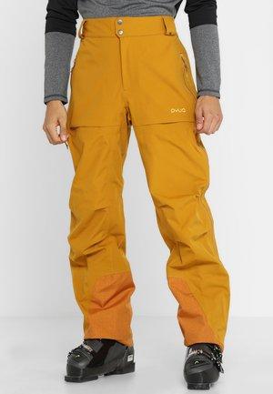 RELEASE - Snow pants - golden brown