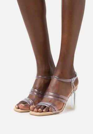 KAYLA  - Sandals - clear
