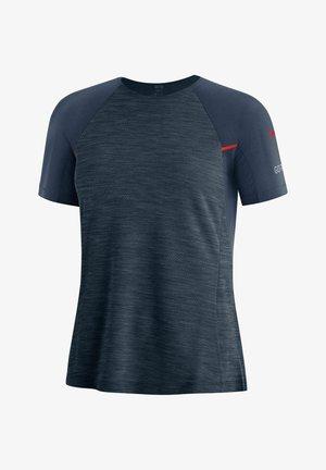 """""""VIVID"""" - Print T-shirt - dunkelblau"""
