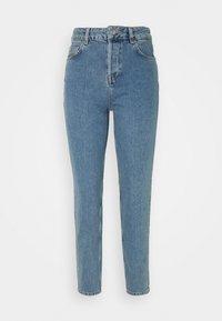 Selected Femme - MOM - Straight leg -farkut - medium blue denim - 0
