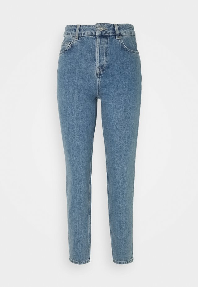 MOM - Straight leg -farkut - medium blue denim