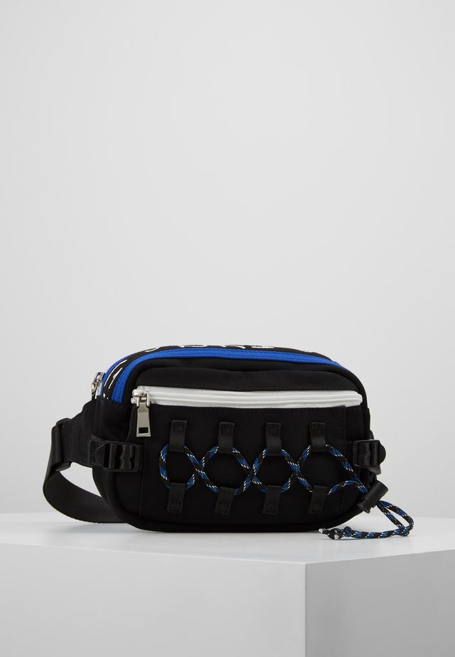 CLIMBERS BUM BAG - Saszetka nerka - black/blue