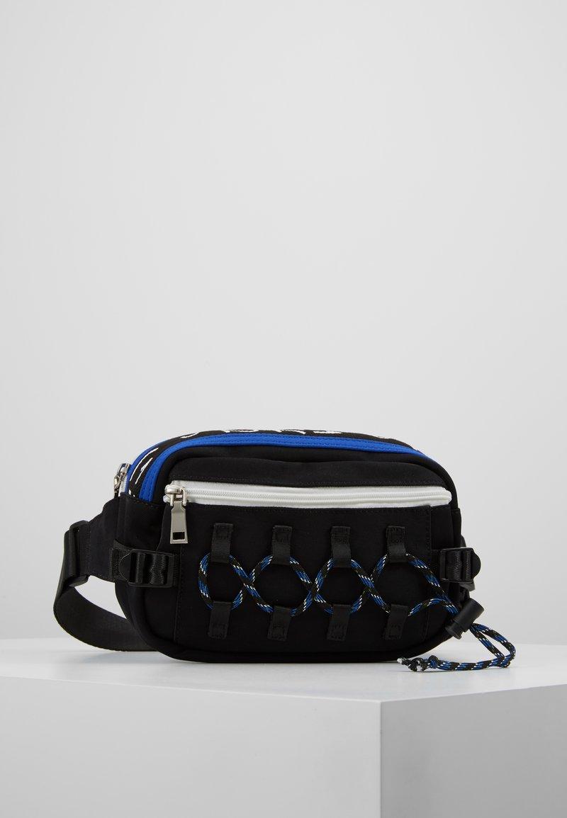 Hikari - CLIMBERS BUM BAG - Ledvinka - black/blue
