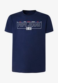 Pepe Jeans - DENNIS - T-shirt con stampa - thames - 4