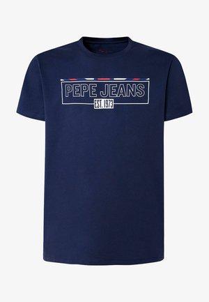 DENNIS - T-shirt med print - thames