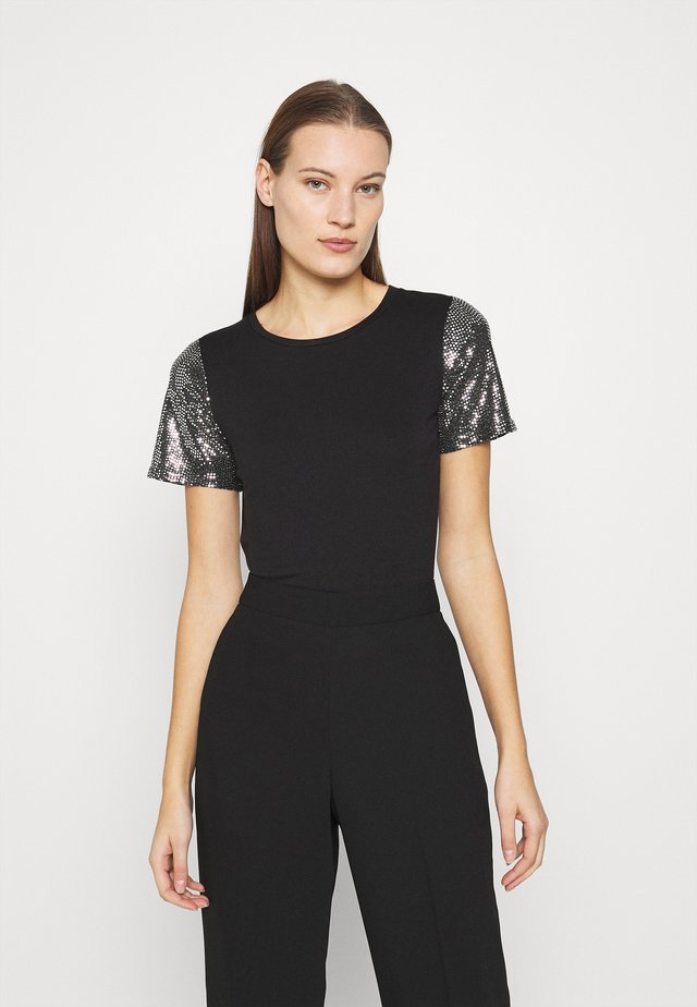 SLEEVE TEE - T-shirt con stampa - black