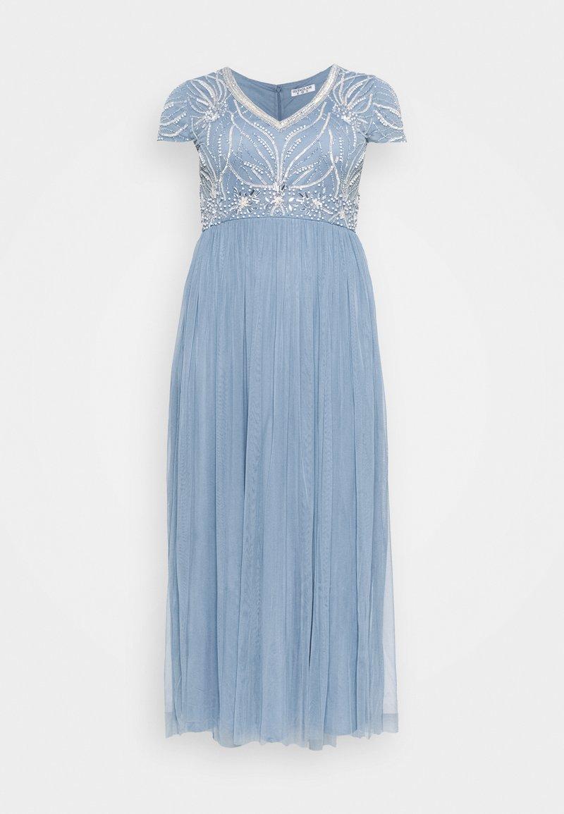 Sistaglam Curve - LILLIS - Koktejlové šaty/ šaty na párty - light blue