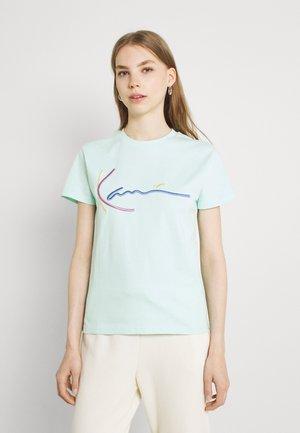 SIGNATURE TEE - T-shirt print - mint
