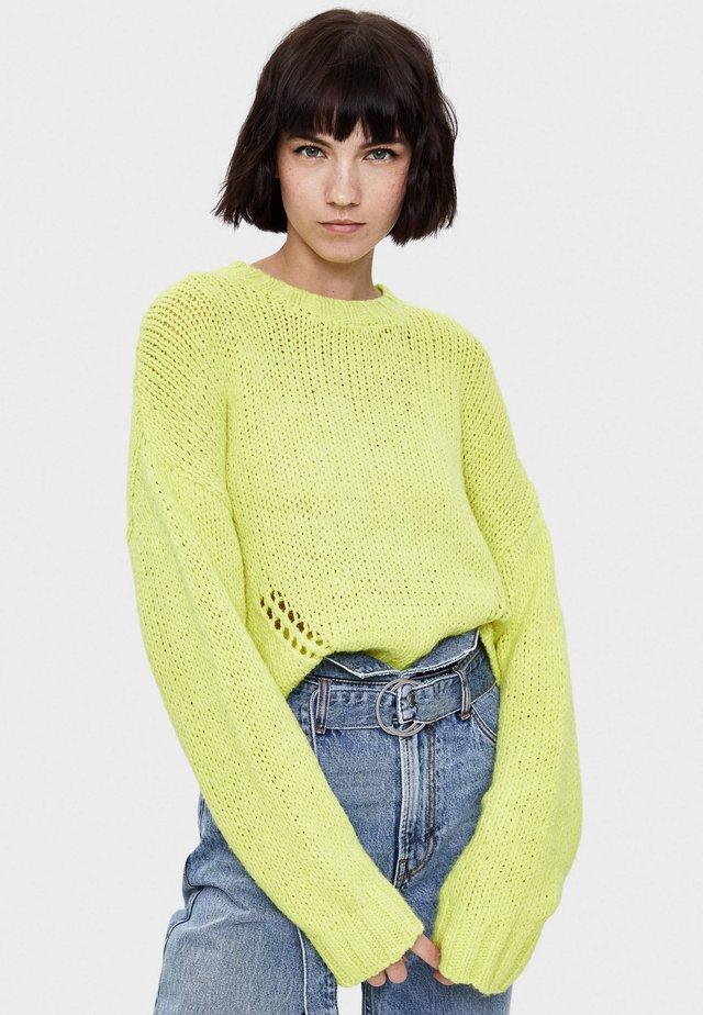 Maglione - neon yellow