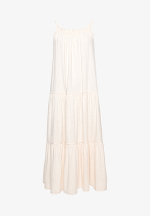 Jersey dress - cream quartz