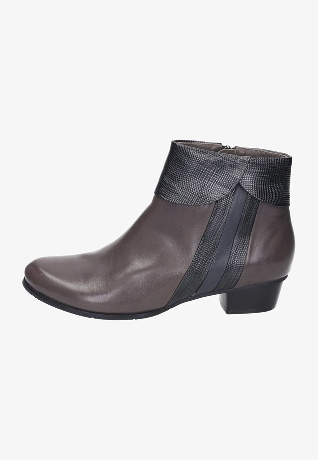 Ankle boots - muddy/grey