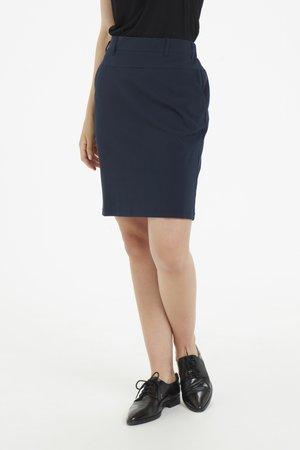JILLIAN SARA  - A-snit nederdel/ A-formede nederdele - midnight marine