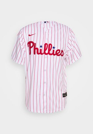 MLB PHILADELPHIA PHILLIES OFFICIAL REPLICA HOME - Klubové oblečení - white/scarlet
