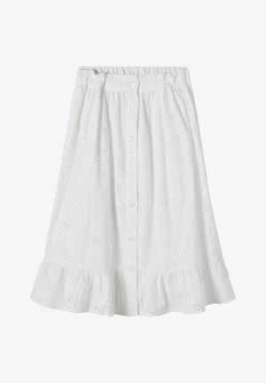 A-lijn rok - bright white