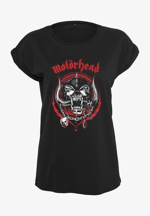 LADIES  - Print T-shirt - black
