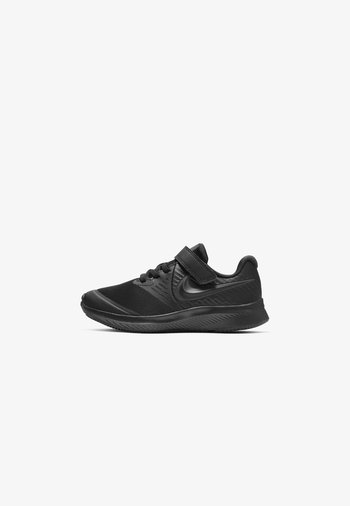 STAR RUNNER 2 UNISEX - Neutral running shoes - black/black/volt/anthracite