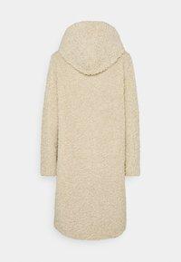 Esprit - TEDDY ZIP  - Zimní kabát - cream beige - 1
