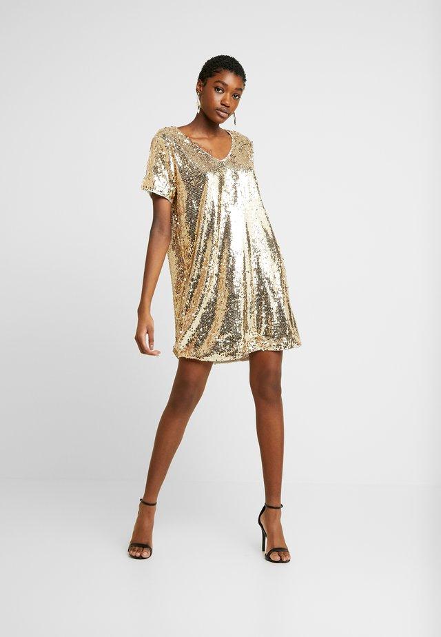 BSCORAS - Sukienka letnia - gold