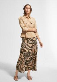 comma - BEDRUCKTER - A-line skirt - sahara leaf - 1