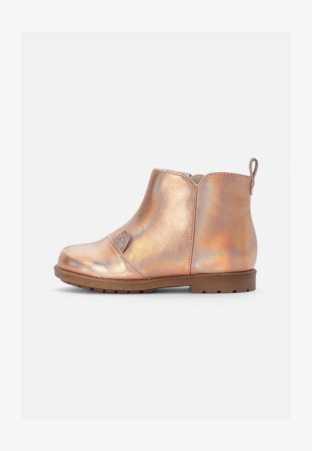 Korte laarzen - rose gold-coloured