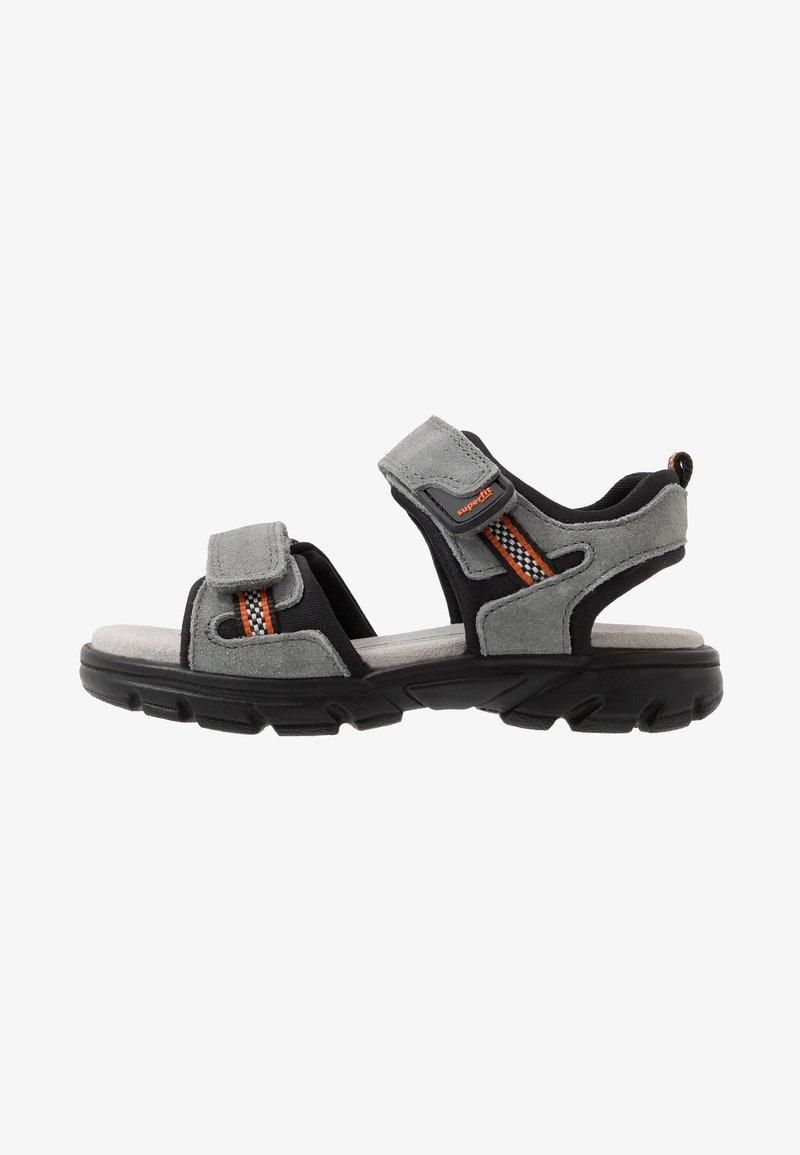 Superfit - SCORPIUS - Walking sandals - grau