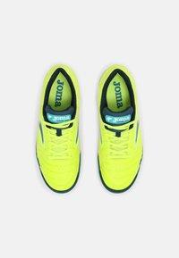 Joma - DRIBLING - Indoor football boots - yellow/black - 3