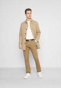 Teddy Smith - PALLAS - Chino kalhoty - bois brun - 1
