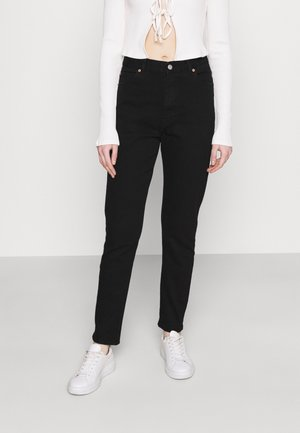 NORA STRETCH - Straight leg jeans - washed black