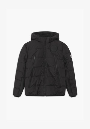 SUSTAINABLE BASIC SHINY BOYS  - Snowboardová bunda - black