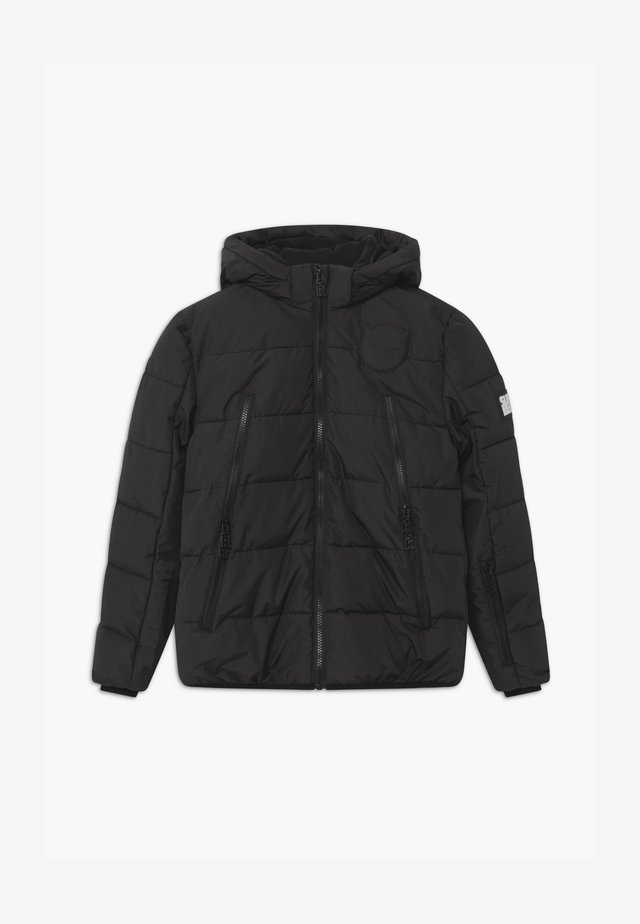 SUSTAINABLE BASIC SHINY BOYS  - Snowboardjacke - black
