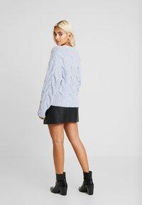 Fashion Union Petite - ANODA - Sweter - blue - 2