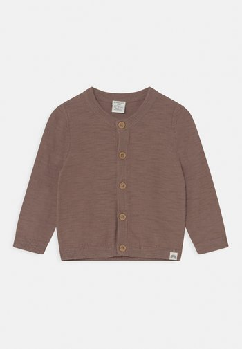 SLUB UNISEX - Cardigan - brown