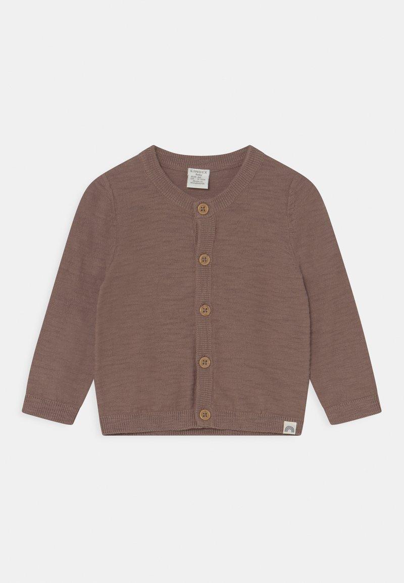 Lindex - SLUB UNISEX - Cardigan - brown