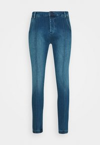 SIKSILK - CUFFED - Jeans Skinny Fit - midstone blue - 3