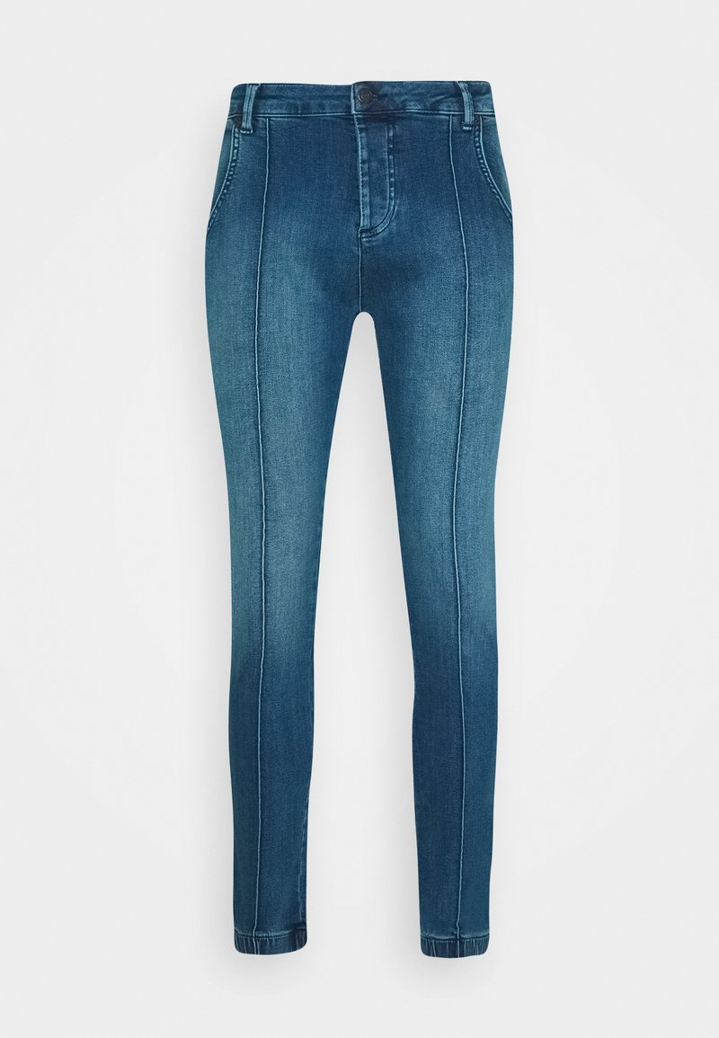 SIKSILK CUFFED - Jeans Skinny Fit - beige oHJjL2
