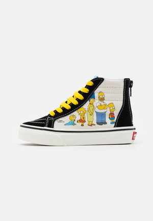 THE SIMPSONS SK8 ZIP - Sneakersy wysokie - multicolor