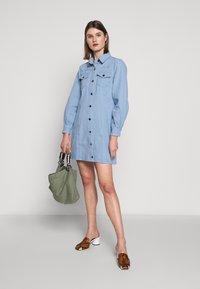 Bruuns Bazaar - VESTIE ZADENA DRESS - Denim dress - blue mist - 1