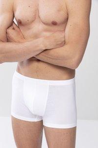 Mey - SHORTY SERIE CASUAL COTTON - Pants - white - 2