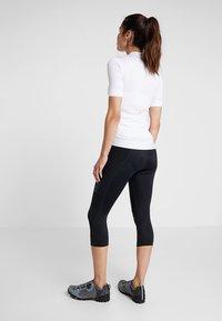 Craft - ESSENCE BIB KNICKERS - 3/4 sports trousers - black - 2