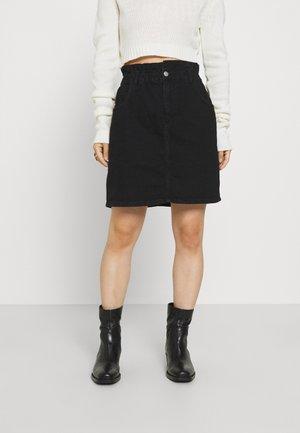 ONLOVA LIFE SKIRT  - Mini skirt - black