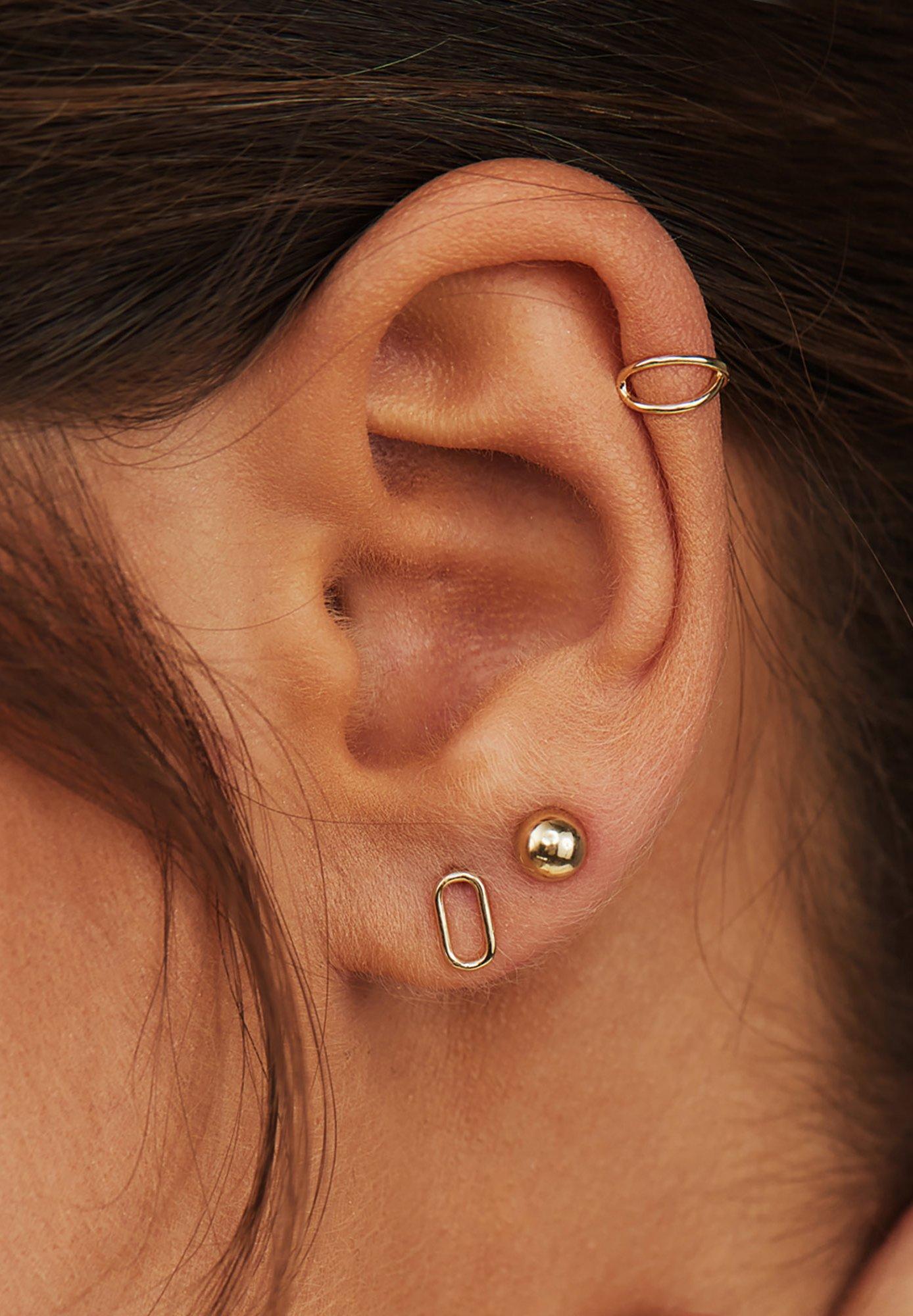 Femme 14 KARAT GOLD  - Boucles d'oreilles